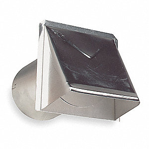 Aluminum Wall Cap with 6 x 6 Flange Size (In.)