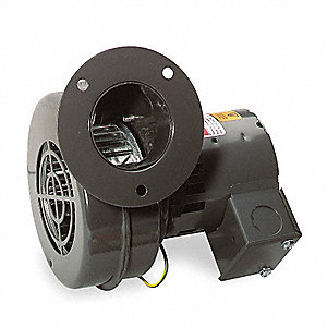 Square OEM Blower With Flange, Voltage 115, 2870 RPM, Wheel Dia. 3-13/16""