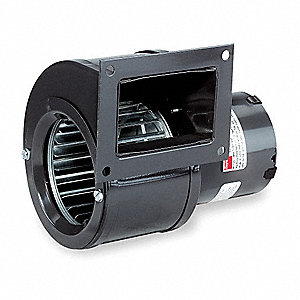 Rectangular OEM Blower With Flange, Voltage 115, 2200 RPM, Wheel Dia. 4-1/4""