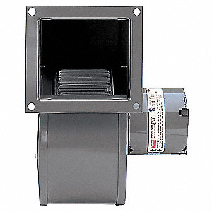 "Rectangular Shaded Pole OEM Specialty Blower, Flange: Yes, Wheel Dia: 5-1/4"", 115VAC"