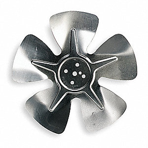 Propeller, Dia 6 In, Hub Less Bore Dia