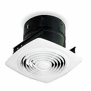 Broan Exhaust Fan Ceiling Steel 7 Housing Height In