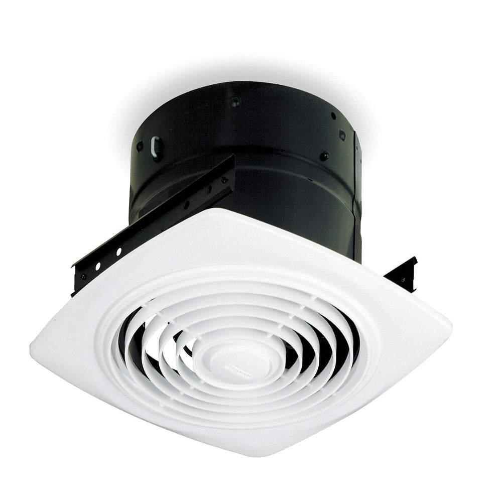 Exhaust Fan, Ceiling, Steel, 7 Housing Height (In.)