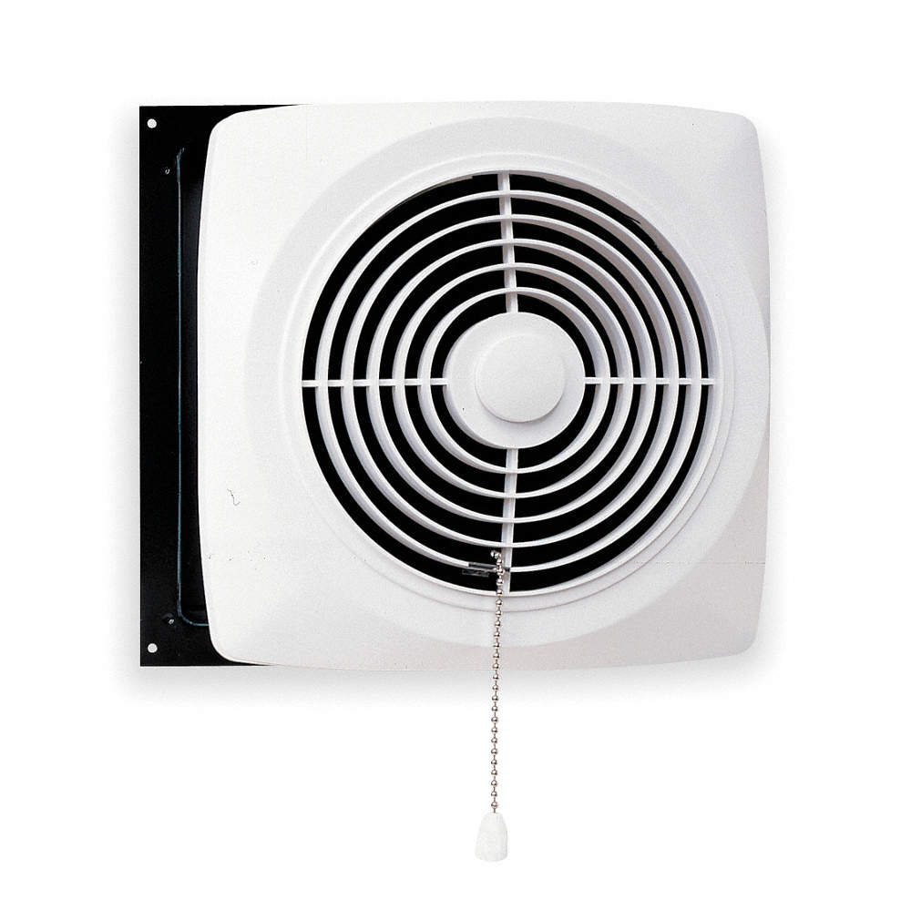 Exhaust Fan Kitchen Wall Chain Operated Steel Adj 4 1 2 To 9 Housing Length In