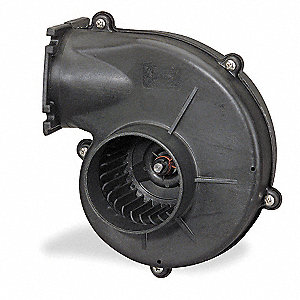 Round OEM Blower With Flange, Voltage 115, 2870 RPM, Wheel Dia. 3-1/4""