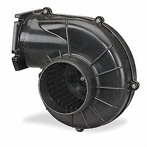 Round OEM Blower With Flange, Voltage 115, 1550 RPM, Wheel Dia. 3-1/4""