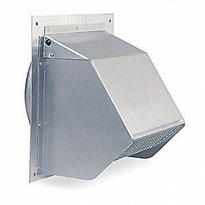 Aluminum Wall Cap with 9 x 9 Flange Size (In.)