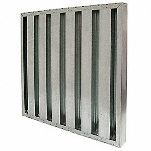 Grease Filter, Galvanized Steel Baffle