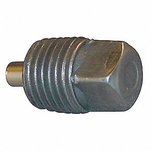 "Square Head Plug, Magnetic, MNPT, 1-1/4"" Pipe Size - Pipe Fitting"