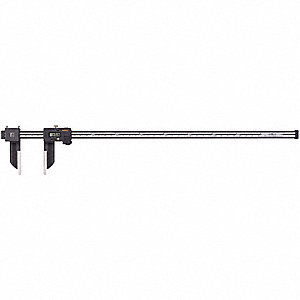 "Digital Caliper 0-40""/0-1000mm Range, 0.0005""/0.01mm Resolution, IP Rating: 66, Stainless Steel"