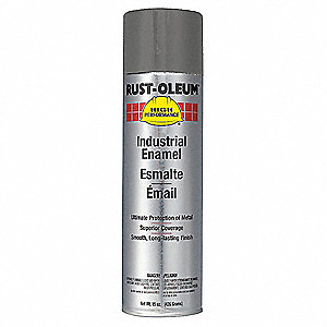 High Performance Rust Preventative Spray Paint in Gloss Smoke Gray for Metal, Steel, 15 oz.