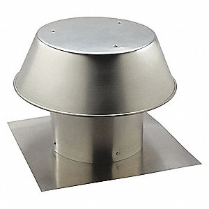 "20-3/4"" x 14-1/2"" Aluminum Roof Cap with 20 x 20 Flange Size (In.)"
