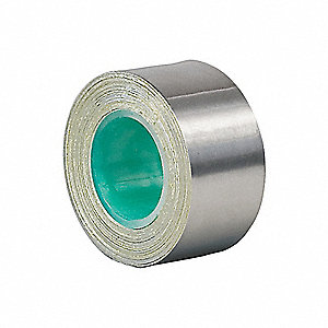Foil Tape,3/4 In. x 5 Yd.,Dark Silver