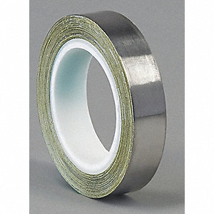 Foil Tape,1/2 In. x 5 Yd.,Dark Silver