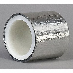 Foil Tape,2 In. x 5 Yd.,Shiny Silver