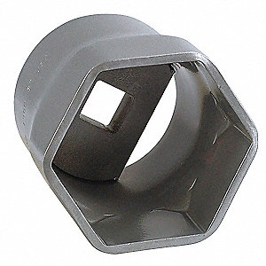 Locknut Socket,3/4 in. Dr,3 in. Hex