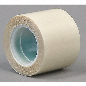 "Polyethylene Film Tape, Rubber Adhesive, 11.70 mil Thick, 1"" X 5 yd., Clear, 1 EA"