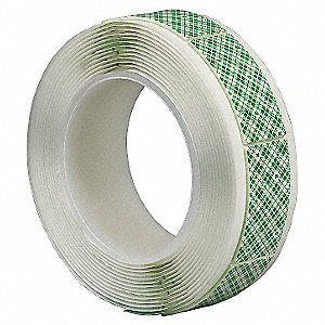 Double Coated Tape Shape,1 x 3In,PK108