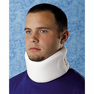 Cervical Collar,Foam,White,S