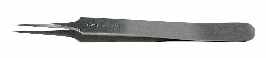 Sharp Fine Economy Tweezers 4-3//4in