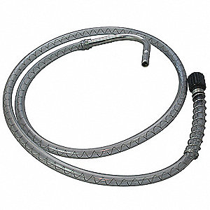 Discharge Hose,w/Anti-Drip Nozzle,4 ft