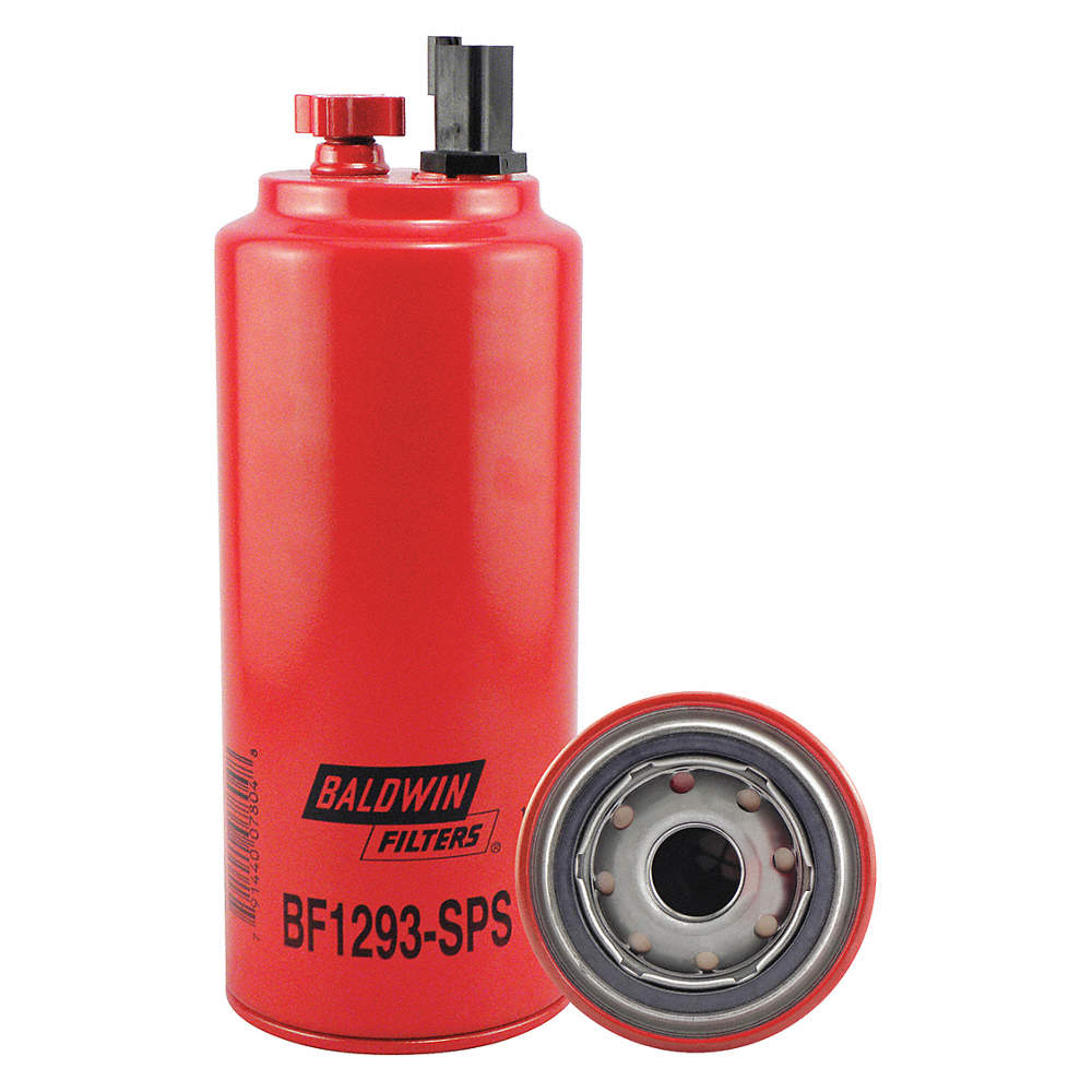 BALDWIN FILTERS Fuel Filter, Spin-On Filter Design - 4CTW5|BF1293-SPS -  GraingerGrainger