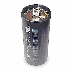 Round Motor Start Capacitor,110-125VAC Voltage