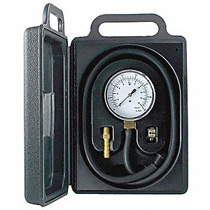 Low Pressure Test Kit,0 to 10 H2O,2-1/2
