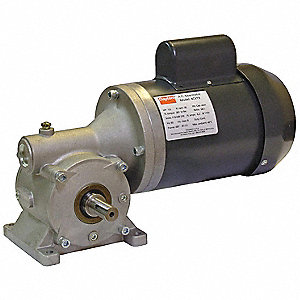 AC Gearmotor,Right Angle,100 RPM