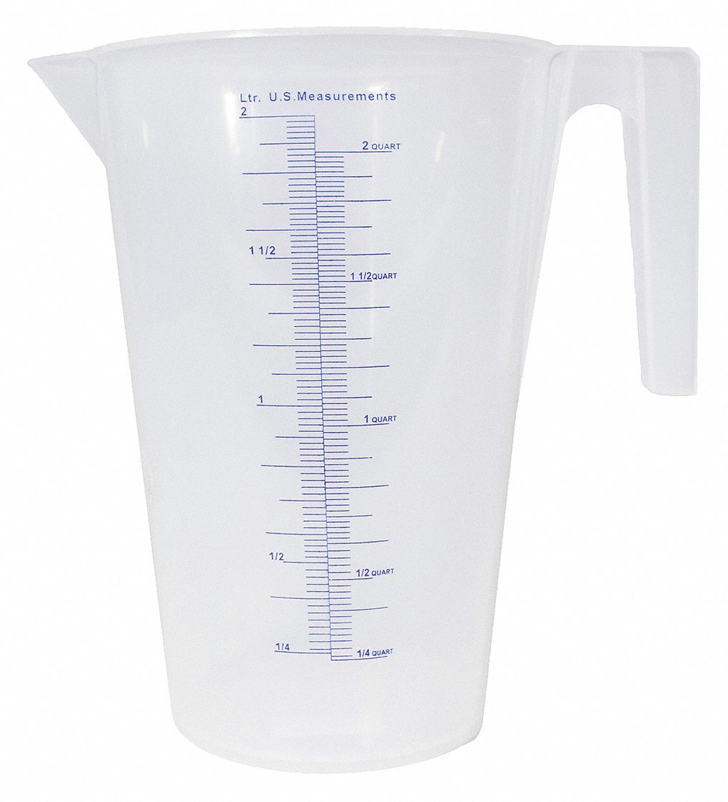 2 L Heavy Duty Polypropylene Measuring Container