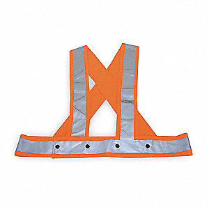 Polyester High Visibility Sash, Unrated
