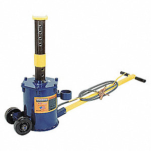 Air Steel Air Jack Stand with 10 tons Lifting Capacity