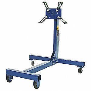 Engine Stand,  Gas Or Diesel,  1250 Capacity (Lb.),  34 Height (In.),  36 Length (In.)