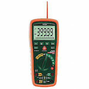 EXTECH (R) EX570 Full Size Digital Multimeter, Instrument Counts: 40,000