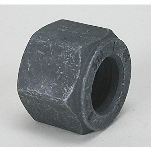 "Tube Nut, 5/8"" Tube Size, Metal, 1"" Hex Size"