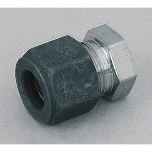 "Stainless Steel CPI™ Compression Cap, 3/16"" Tube Size"