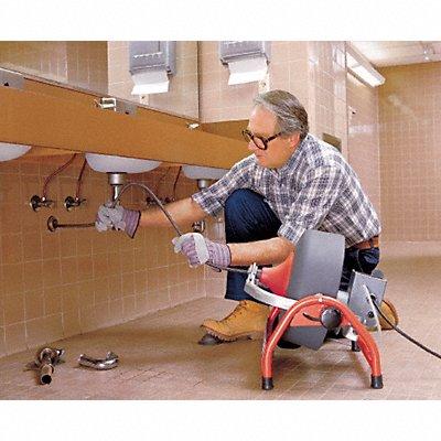 4CX03 - Drain Cleaning Machine 3/8x100 1/2x90