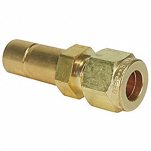 "Tube Red.,Brass,CPIxTube Stub,1/4""x3/8"""