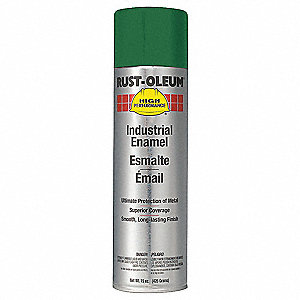 High Performance Rust Preventative Spray Paint in Gloss Green (Matches John Deere) for Metal, Steel,