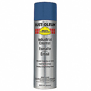 High Performance Rust Preventative Spray Paint in Gloss Ford Blue for Metal, Steel, 15 oz.