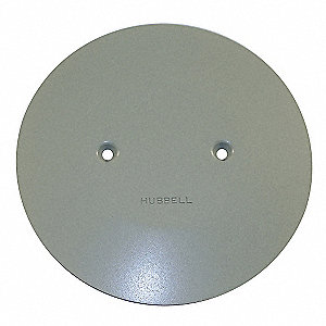 Hubbell Wiring Device Kellems Round Pvc Abandonment Plate
