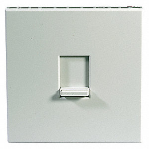 Rotary Lighting Dimmer, Incandescent Light Technology, 3-Way, White