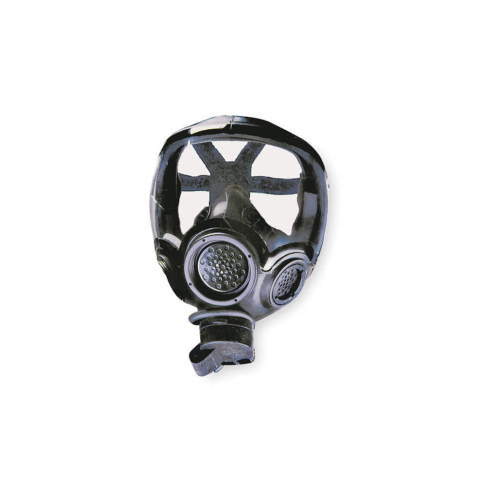 CBRN Mask, M, Facepiece Material Hycar® Rubber, Suspension 6 pt  Strap