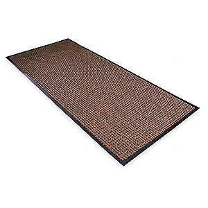 Carpeted Entrance Mat,Brown,4ft. x 6ft.