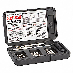 Thread Repair Kit,304 SS,5/16-24,36 Pcs
