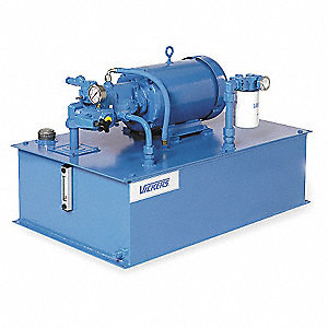 10 HP 230/460VAC Hydraulic Power Unit, 1400 psi 10.5 gpm