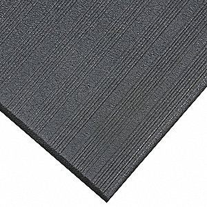 Antifatigue Runner,Black,4ft. x 60ft.