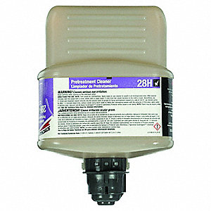 Pretreatment Cleaner, For Use With 3M  Twist 'n Fill  Chemical Dispenser, 1 EA