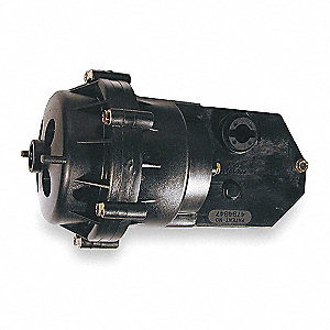 "8-1/4"" x 4-1/2"" x 8-1/4"" Rotary Pneumatic Actuator, 5 to 10 psi, Includes: Mounting Bracket"