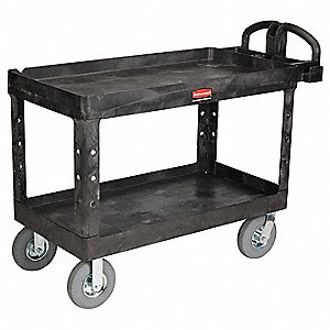 Utility Cart,750 lb. Load Cap.